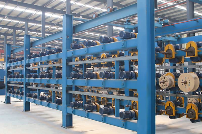 富大扩产,新增一条钢丝绳芯输送带硫化生产线,硫化主板1.8MX15.6M